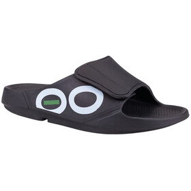 OOFOS Ooahh Sport Flex Sandals, black